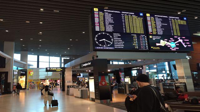 国際空港のフライトスケジュール