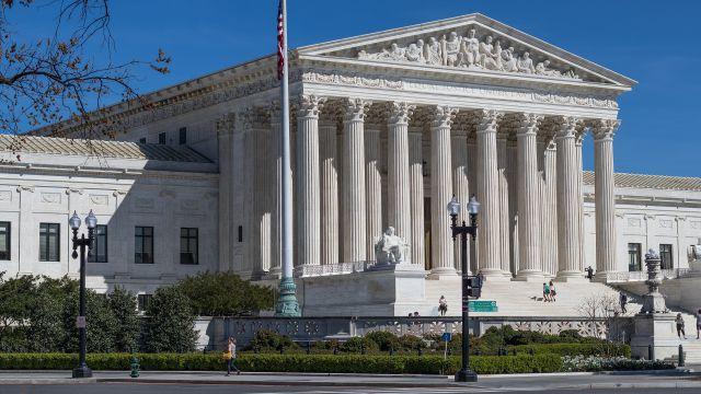 ワシントンの最高裁判所の建物