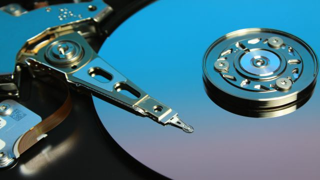 フォーマットの1つであるハードディスク