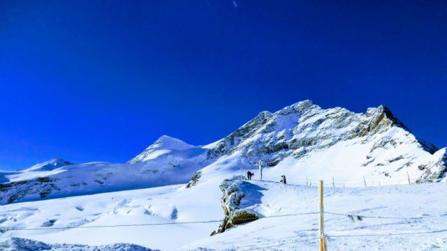 天気が良いスキー場