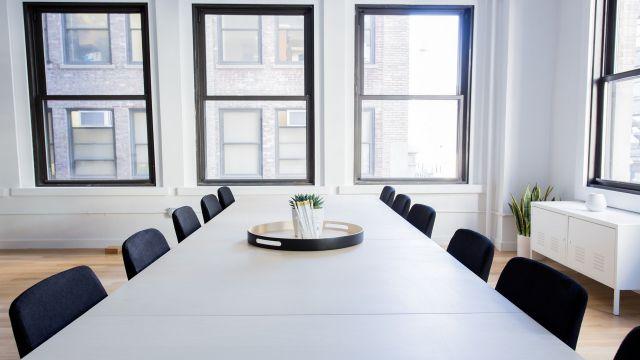 外国のミーティングルーム