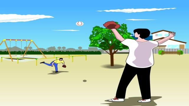 シャドテンを使った英語学習は、孤独に行う学習と違ってパートナーがいるキャッチボールのようなもの。