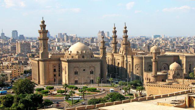 講師が住むエジプトのカイロの街並み