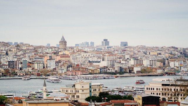 講師が住むイスタンブールの景色