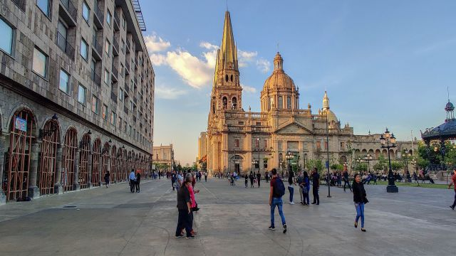 講師が住むメキシコの街並み