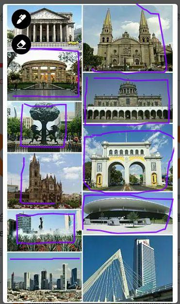 メキシコ人講師がレッスン中にメキシコの観光地や有名スポットについて写真を共有しながら教えてくれた