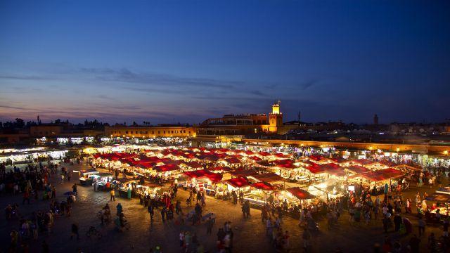 講師が住むモロッコのMerrakech
