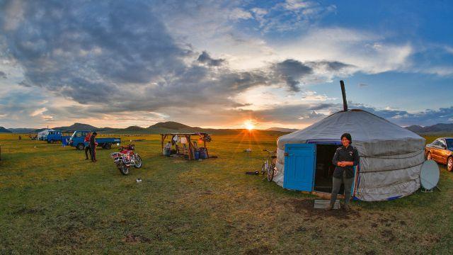 講師が住むモンゴルの景色