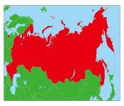 モスクワの地図