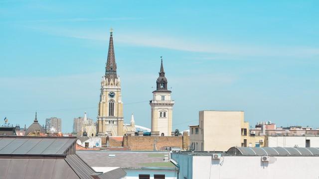 セルビアの街並み