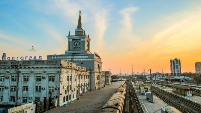 講師が住むロシアのVolgogradという市