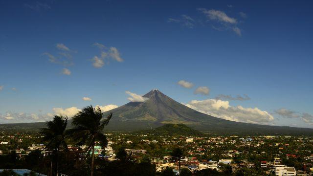 フィリピンの美しい山